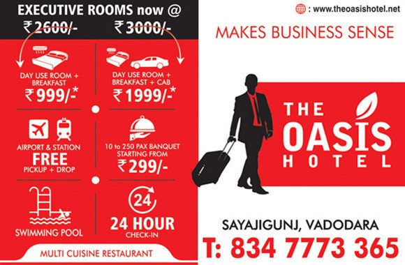 Budget Hotels in Vadodara near Railway Station, Airport | The Oasis